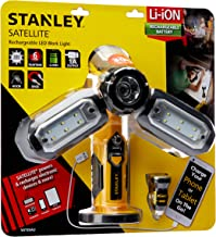 Stanley Satellite Rechargeable Led Work Light with Portable Power 300 Lumens