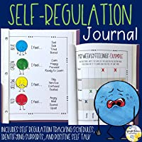 Self Regulation Coping Strategies Journal - Includes Digital Version for Distance Learning