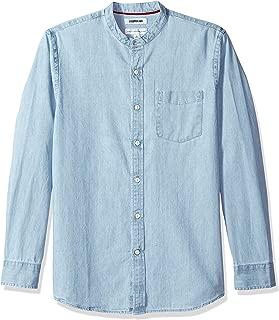 Best denim shirt with mandarin collar Reviews