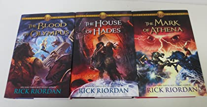 Heros of Olympus Books 3, 4 & 5: Mark of Athena, House of Hades, Blood of Olympus