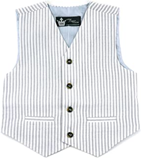 Littlest Prince Couture Infant/Toddler/Boys Suit Vest