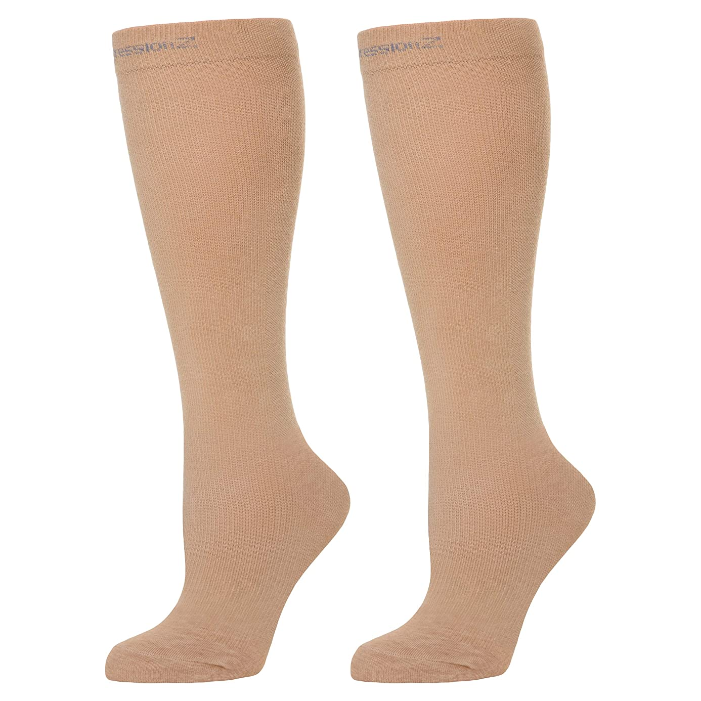 Compression Socks Men & Women - Perfect for Nurses, Runners, Athletes, Diabetics, Travelers - 20–30 mmHg Graduated Compression