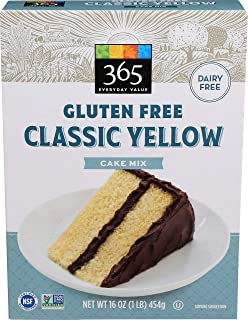 365 Everyday Value, Gluten Free Classic Yellow Cake Mix, 16 oz
