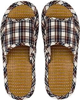 DRUNKEN Slipper for Men's Flip Flops House Slides Home Carpet Sandals