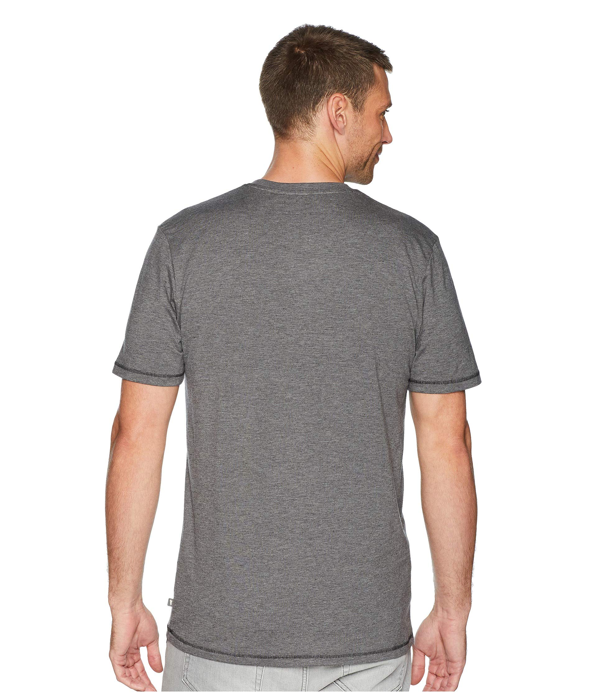 Sleeve Heather Toad Tempo amp;co Charcoal Crew Slim Short 4w1tFqw