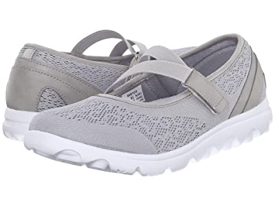 Propet TravelActiv Mary Jane (Silver) Women
