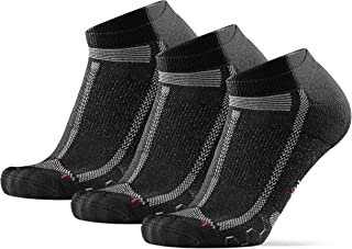 Low-Cut Running Socks for Long Distances, for Men & Women, Anti-Blister, Padded, Arch Support, Breathable, Sweat Wicking, ...