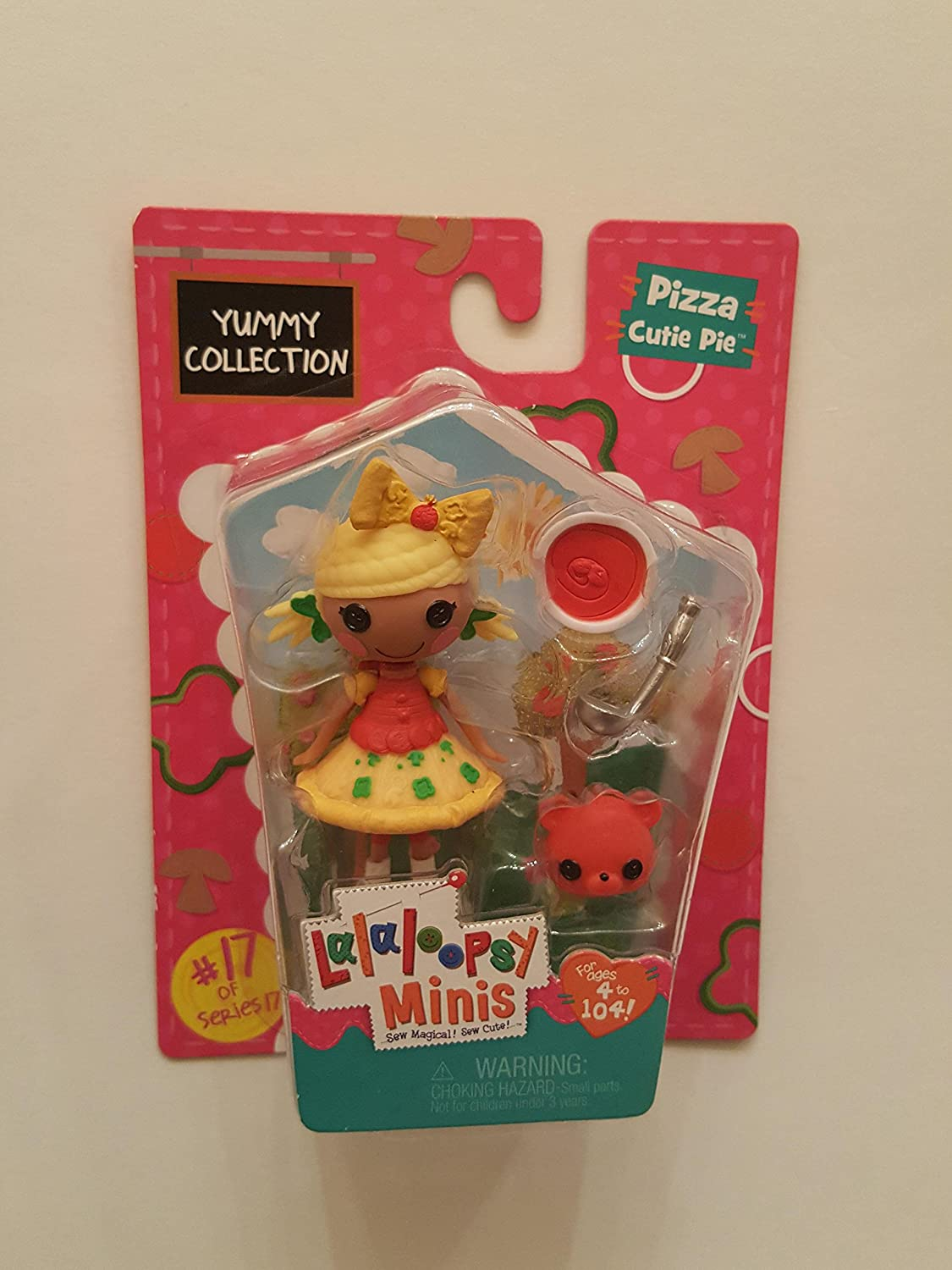 Lalaloopsy Minis Yummy Collection Pizza Cutie Pie