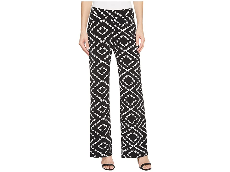 Tribal Pack and Go Travel Jersey 30 Printed Pull-On Wide Leg Pants (Night) Women