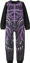 AME Boys Child One Piece Black Panther Sleeper Pajamas