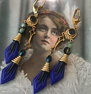 art deco egyptian revival jewelry