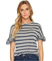 Lucky Brand - Mix Stripe Tee