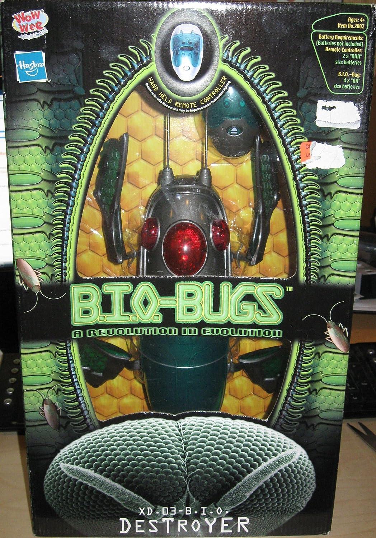 BIOBUGS INTERACTIVE REMOTE CONTROL BUG  DESTROYER by Hasbro