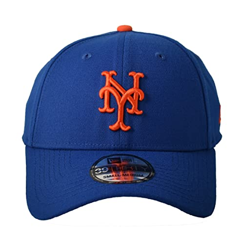 timeless design be850 f7e37 MLB New York Mets Team Classic Game 39Thirty Stretch Fit Cap, Blue, Small