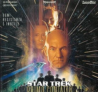 (LASER DISC) Star Trek Primo Contatto - Patrick Stewart - Jonathan Frankes - Marina Sirtis