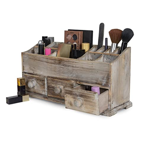 Wooden Makeup Organizer Amazon.com