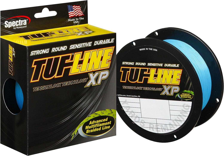 300 Yards 8 lb Test Yellow Tuf-Line XP Fishing Line Tension Lock Spectra