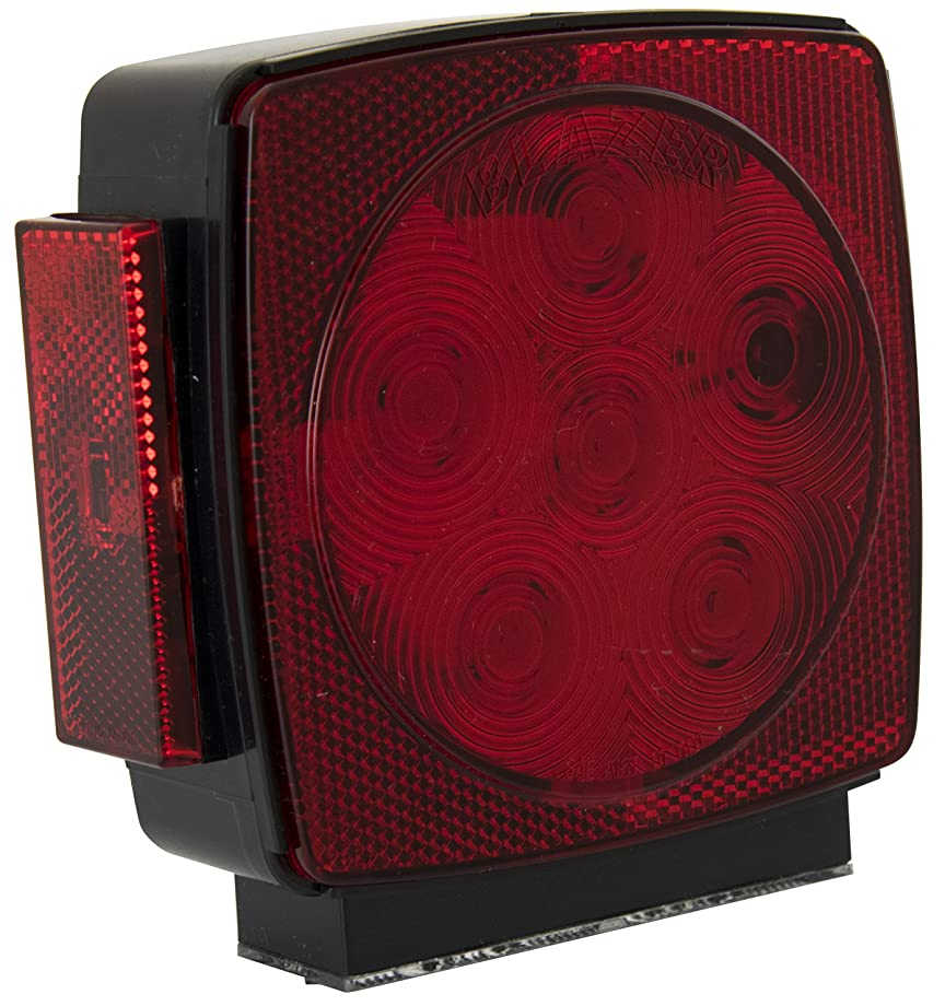 Blazer C7483RTM LED Square Submersible Stop/Tail/Turn Light, Driver Side