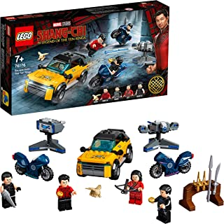 LEGO® Marvel Shang-Chi Escape from The Ten Rings 76176 Collectible LEGO Marvel Playset with Shang-Chi, Katy, Wenwu and Raz...