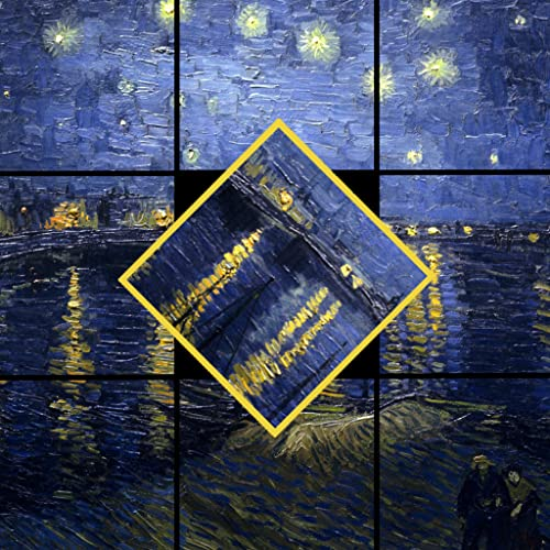 Tap & Turn Van Gogh Photo Puzzle Free Edition
