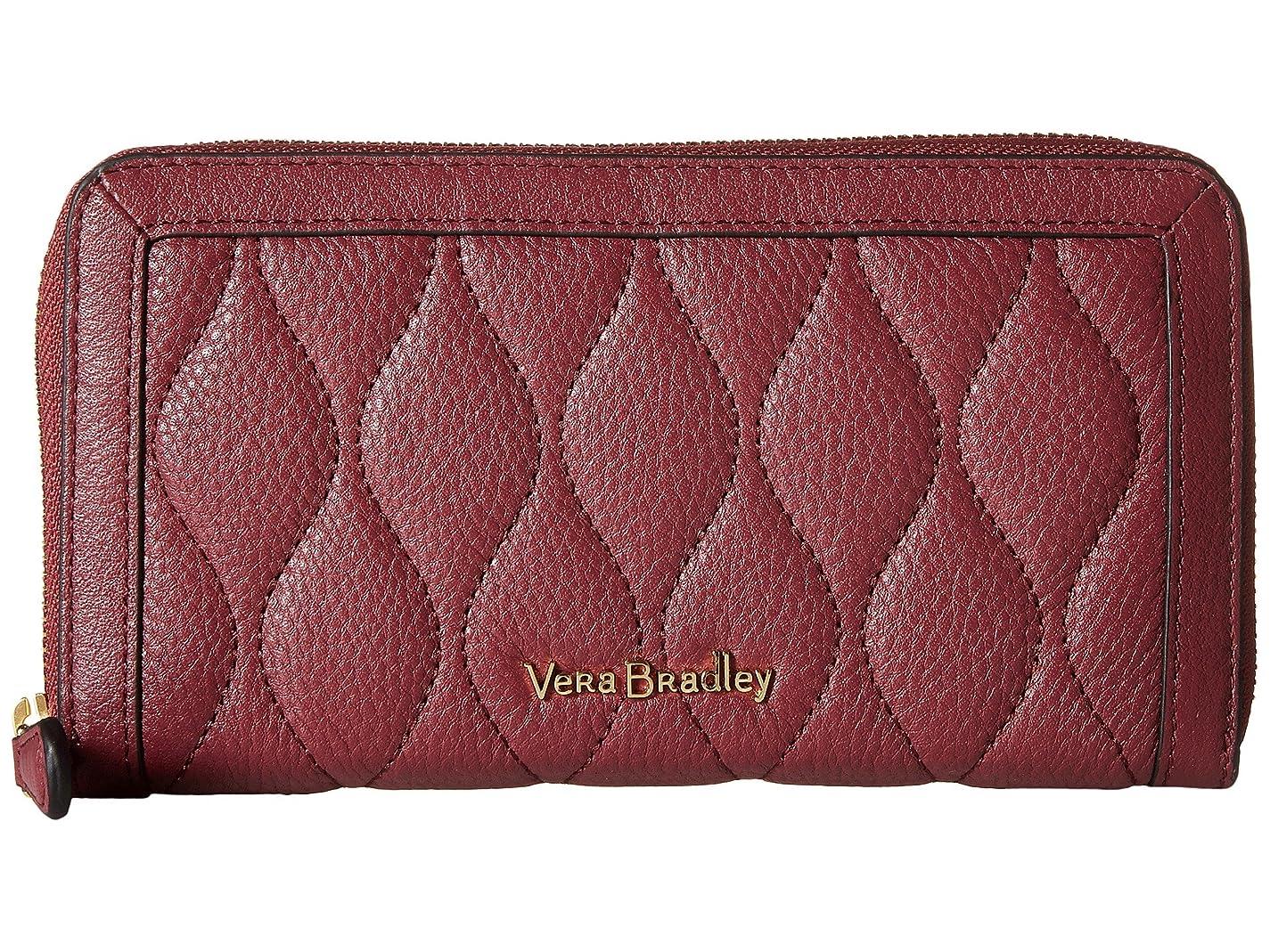 オープナー鎖手数料[ヴェラ ブラッドリー] Vera Bradley レディース Quilted Georgia Wallet ウォレット [並行輸入品]