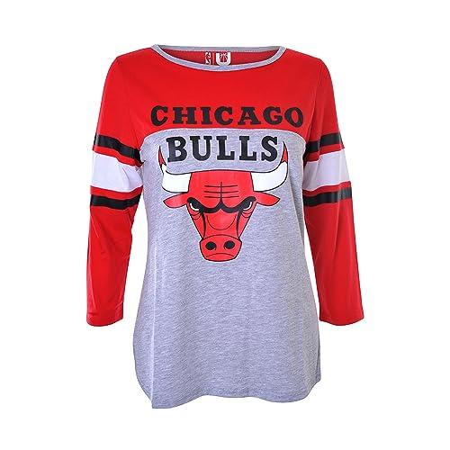 UNK NBA Women s T-Shirt Raglan Baseball 3 4 Long Sleeve Tee Shirt 0e2a034e9