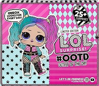 L.O.L. Surprise, OOTD 2020 - Calendrier de l'Avent 25 surprises dont 1 poupée exclusive 8cm, accessoires et vêtements, fon...