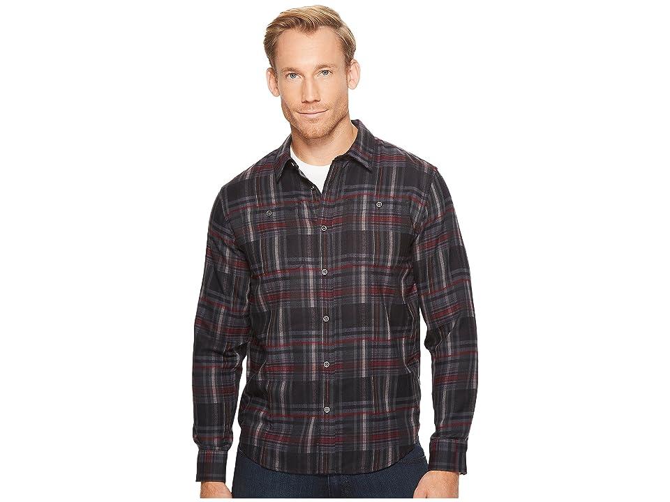 Prana Stratford Long Sleeve Shirt (Black) Men