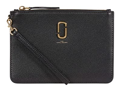 Marc Jacobs The Softshot Wristlet (Black) Handbags