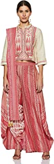 W for Women Straight Salwar Suit Set