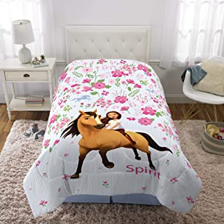 "Franco Kids Bedding Super Soft Microfiber Reversible Comforter, Twin/Full Size 72"" x 86"", Spirit Riding Free"