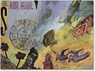 Air Mail by Nick Bantock, 35x47-Inch Canvas Wall Art