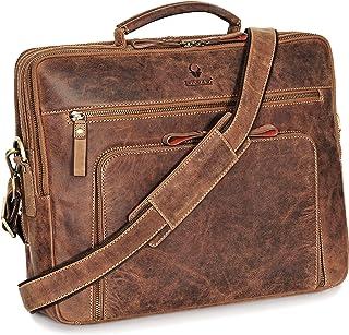 DONBOLSO® Laptoptasche San Francisco 15,6 Zoll Leder I Umhängetasche für Laptop I Aktentasche für Notebook I Tasche für Da...