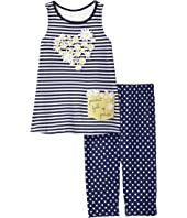 Mud Pie - Daisy Tunic and Leggings Set (Infant/Toddler)