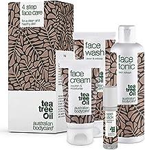Australian Bodycare Face Kit Tea Tree Oil | 4 produkter mot oren hud, finnar och pormaskar | Kan användas till daglig vård...