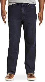 True Nation by DXL Big and Tall Relaxed-Fit Stretch Jeans, Dane Blue