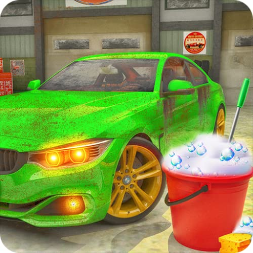 Super Car Wash Auto Service Cleaning Game 2020