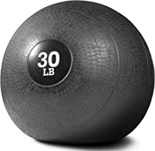 Titan Fitness 30 lb Slam Spike Ball Rubber Exercise Weight Crossfit Workout