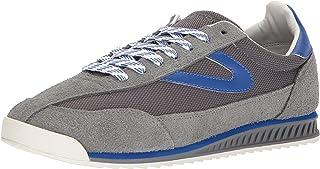 حذاء رياضي RAWLINS2 للرجال من Tretorn، رمادي غامق/أزرق، 7 وسط الولايات المتحدة