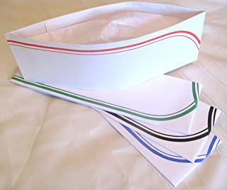 Food Server Soda Jerk Paper Party Hat Set of 4 by PHCO