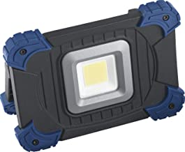 Meister LED-werklamp voor buitengebruik met accu (3,7 V/4,4 Ah) -spatwaterbescherming USB-uitgang-2 schakelmodi -900 lume...