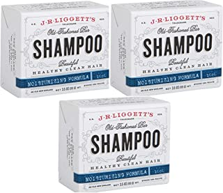 J·R·LIGGETT'S All-Natural Shampoo Bar, Moisturizing Formula -Supports Strong and Healthy Hair -Nourish Follicles with Anti...