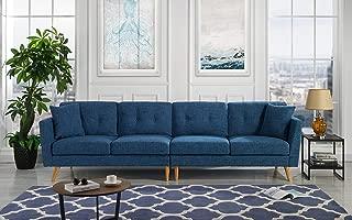 Best dark blue sofa Reviews