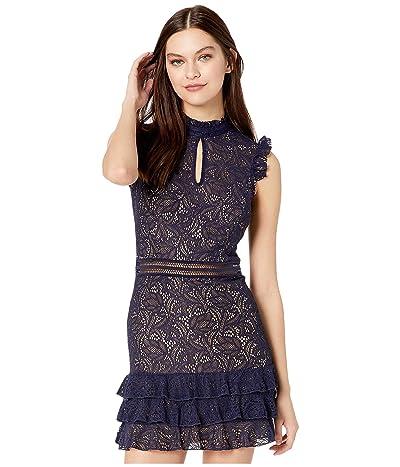 Bardot Bettina Lace Dress (Navy) Women