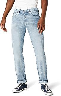 Levi's Erkek Daralan Kesim Kot Pantolon 501 LEVI'SORIGINAL FIT MOWHAWK WARP S, Mavi, W55 (Üretici Ölçüsü 32)