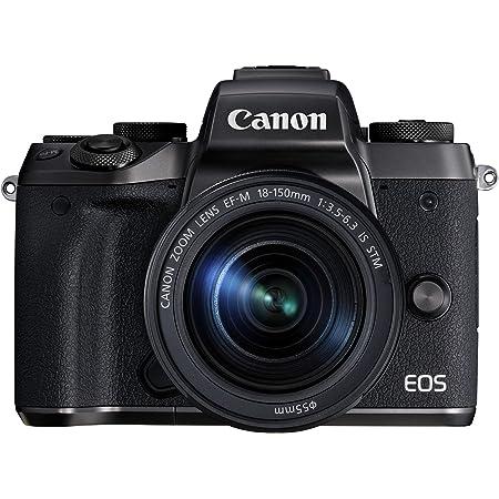 Canon ミラーレス一眼カメラ EOS M5 レンズキット EF-M18-150mm F3.5-6.3 IS STM付属 EOSM5-18150ISSTMLK