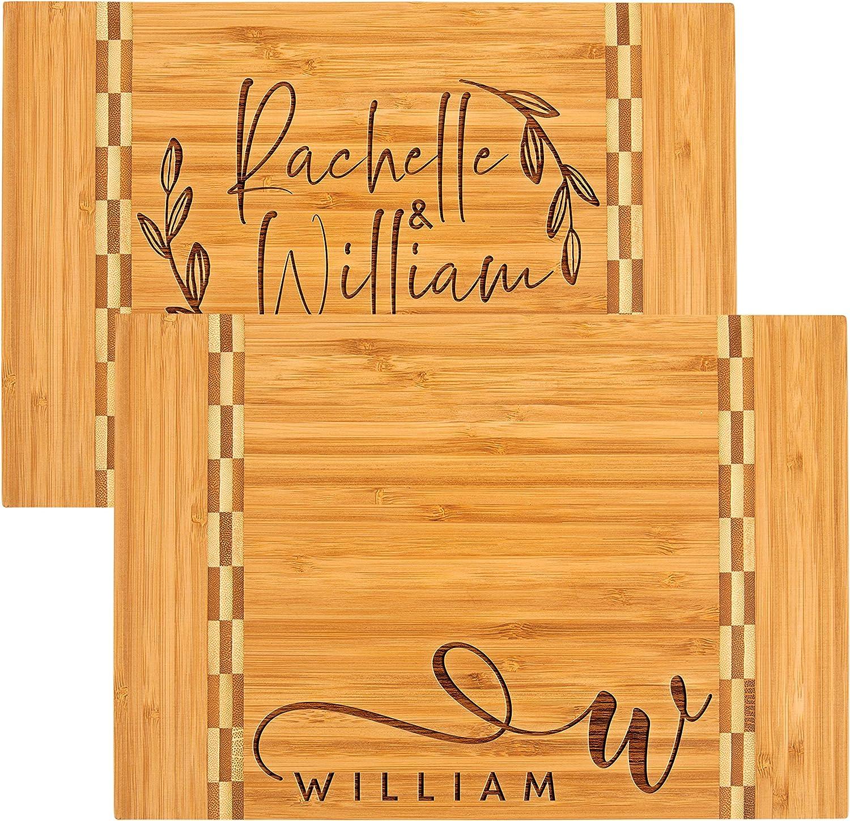 Personalized Cutting Board 11 5 ☆ popular Max 86% OFF Designs Cu Premium Bamboo 18x12