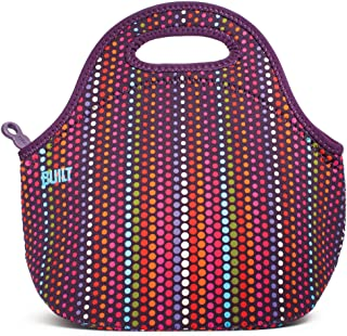 BUILT LB31-MDT Gourmet Getaway Soft Neoprene Lunch Tote Bag-Lightweight, Insulated and Reusable, Micro Dot