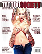 TATTOO SOCIETY Magazine July 2012 Issue 34 SABINA KELLEY Cover, Jessie Smith, Paul Booth, Andy Engel, H20CEAN 10TH Anniversary Party