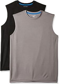 Amazon Essentials Men's 2-Pack Performance Tech Muscle Tank